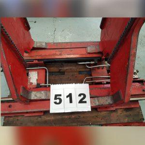 512- Pinza Balas papel modelo KB28GXB marca Bolzoni