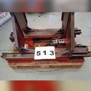 513-Pinza Balas papel modelo KB28G8B de Bolzoni